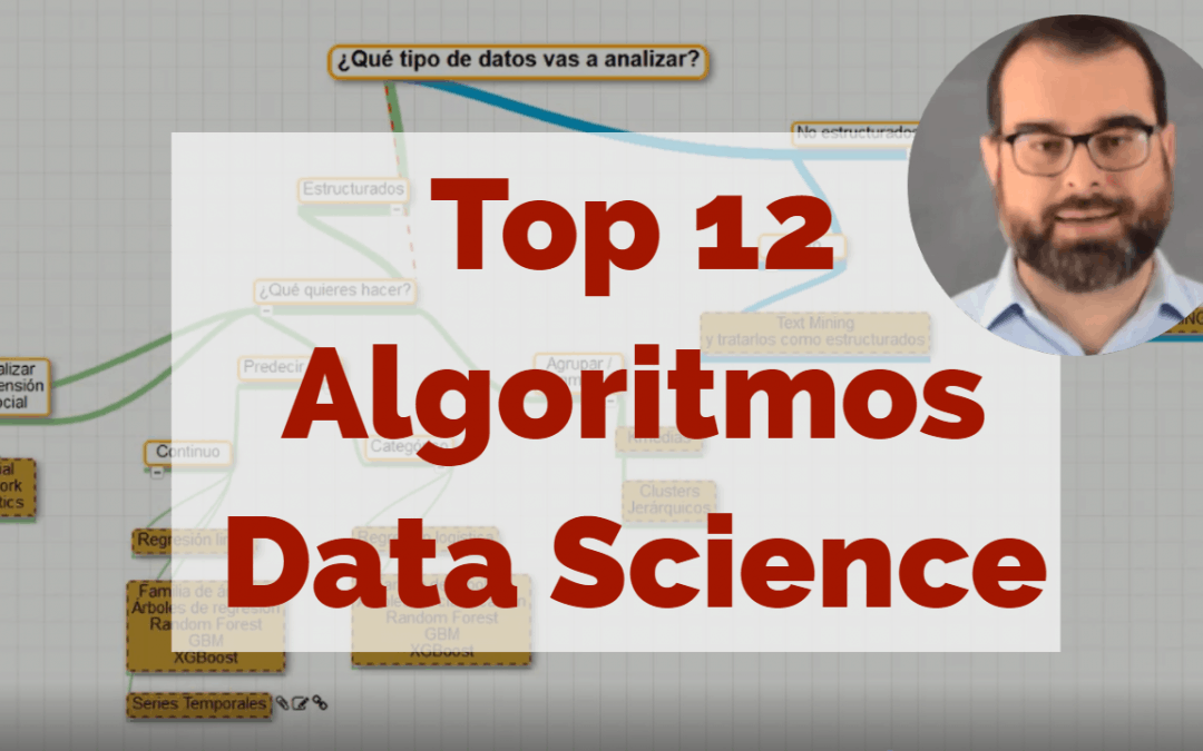 Top 12 algoritmos de Data Science para proyectos empresariales